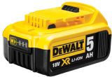 A Dewalt DCB184 18 Volt Li-ion 5.0Ah Slide Battery